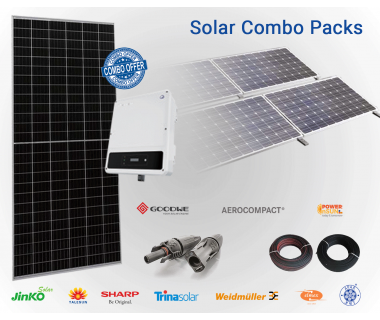 GoodWe 20 KW On Grid Solar Combo Pack