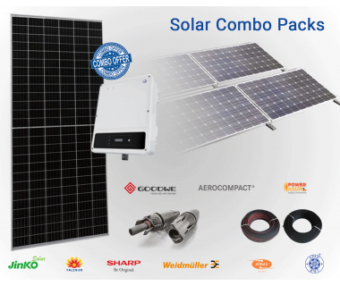GoodWe 5 KW 3Phase Solar On-Grid Combo Pack