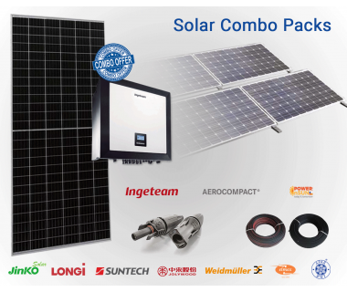 Ingeteam 33KW Solar On-Grid Combo Pack