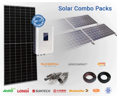 Sungrow  50 KW on Grid Combo Pack