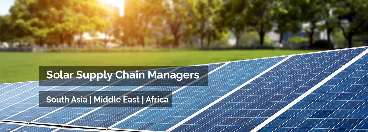 Solar Supply Chain Managers (SCCM)